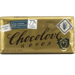 Chocolove Extra Strong Dark Chocolate Bar (12x3.2 Oz)