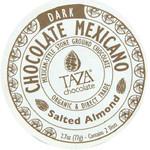 Taza Chocolate Salted Almond (12x2.7 OZ)