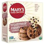 Mary's Gone Crackers N`Oatmeal Raisin (6x5.5 Oz)