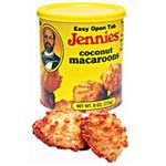 Jennie's Coconut MacAroon Cnstr Gluten Free (12x8 Oz)