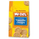 Mi-Del Vanilla Snaps (12x10 Oz)