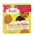 Lucy's Snack N Go, Cookie Combo Gluten Free Cookie (8x6.3 Oz)