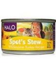 Halo Cat Turkey Spots Stew (12x3 Oz)