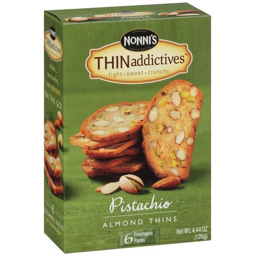 Nonni's Pistachio Almond Thins (6x6 CT)