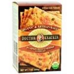 Dr. Kracker Pumpkin Cheddar Bag In Box Crackers (6x6 Oz)
