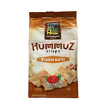 Mediterranean Snack Food Roasted Garlic HummuZ Crispz (6x4 Oz)