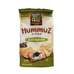 Mediterranean Snack Food Olive Tapenade HummuZ Crispz (6x4 Oz)