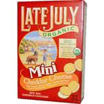 Late July Mini Cheeze Sandwich Cracker (12x5 Oz)