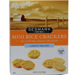Sesmark Foods Lightly Salted Mini Rice Crackers (6x5.25 Oz)