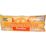 Edward & Sons Cheddar Brown Rice Snaps (12x3.5 Oz)