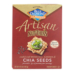 Blue Diamond Chia Seed  Crackers (12x4.25OZ)