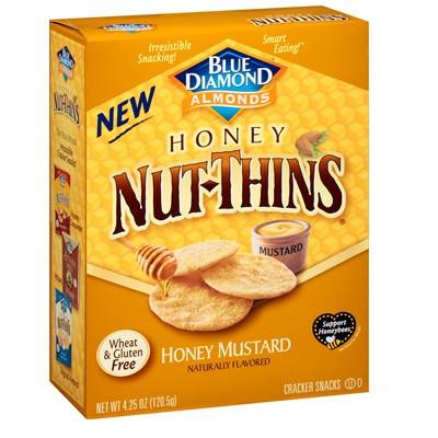 Blue Diamond Honey Mustard Nut Thins (12x4.25 OZ)
