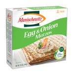 Manischewitz Matzo, Egg and Onion (12x10 OZ)
