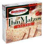 Manischewitz Matzo, Thin Salted (12x10 OZ)