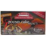 Jennie's Marble Mini Pound Cake Gluten Free (6x7 Oz)