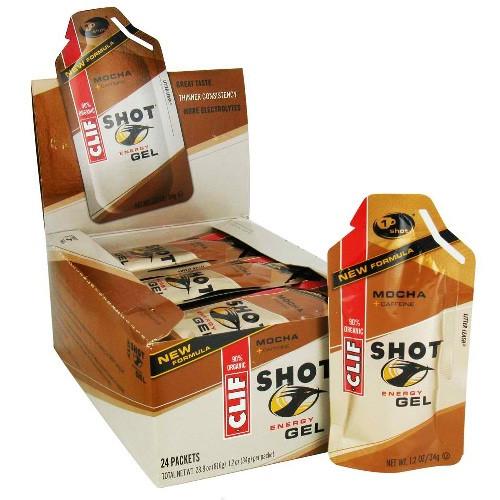 Clif Bar Mocha Clif Bar Shot (24x1.2 Oz)