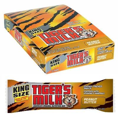 Tigers Milk Peanut Butter Bar (12x1.94OZ )