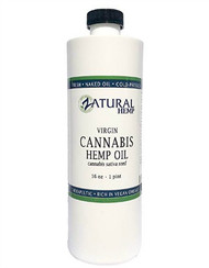 Hemp Oil Virgin, Cold-Pressed 100% Pure