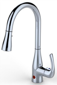 Flow Hands Free Pull Down Faucet - Chrome