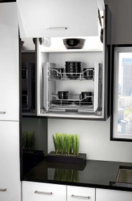 Rev-A-Shelf Small Wall Cabinet Pull-Down Shelving System