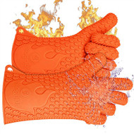 Ekogrips BBQ Oven Gloves - Best Versatile Heat Resistant Grill Gloves or Oven Mitts