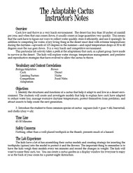 Adaptable Cactus PDF