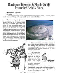 Hurricanes, Tornados, & Floods, Oh My! PDF