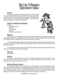 Big Cup 'O Boogers PDF