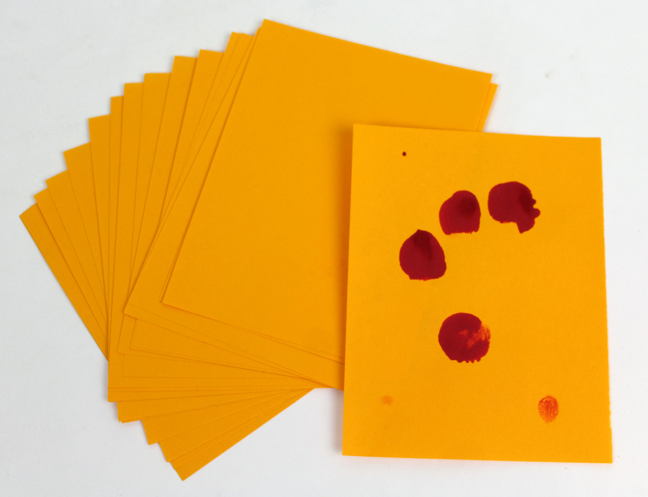 100 Pack of Goldenrod Paper