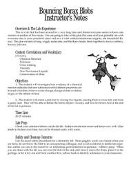 Bouncing Borax Blobs PDF