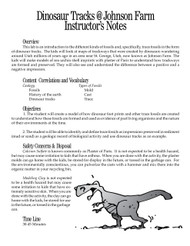 Dinosaur Tracks @ Johnson Farm PDF