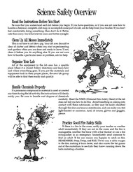 Science Lab Basics PDF