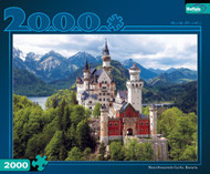 Neuschwanstein Castle 2000 Piece Jigsaw Puzzle Box