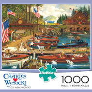 Charles Wysocki Lost in the Woodies 1000 Piece Jigsaw Puzzle Box