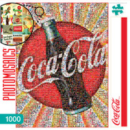 Coca-Cola 1000 Piece Photomosaic Jigsaw Puzzle Box