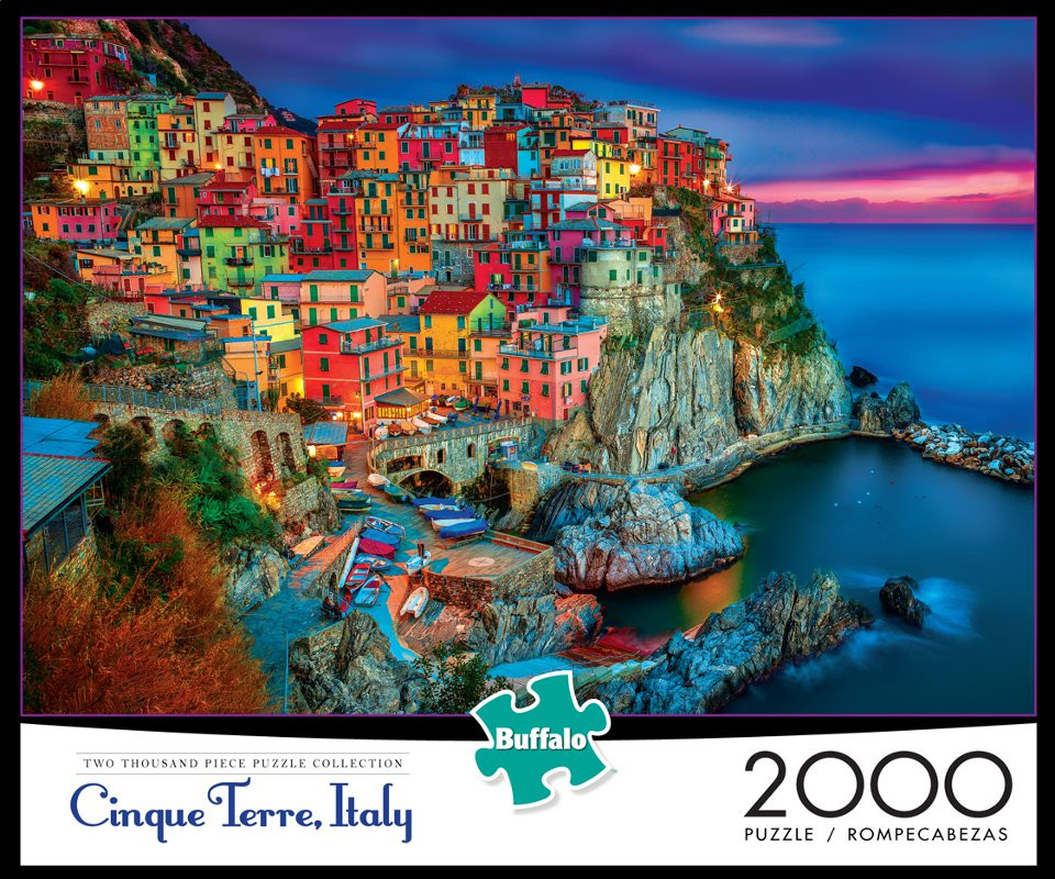 163a79bdae70 Cinque Terre Italy 2000 Piece Jigsaw Puzzle - Buffalo Games