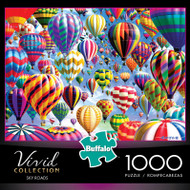 Vivid Sky Roads 1000 Piece Jigsaw Puzzle Box
