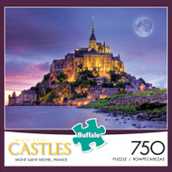 Majestic Castles: Mont Saint Michel France 750 Piece Jigsaw Puzzle Box
