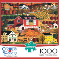 Charles Wysocki Butternut Farms 1000 Piece Jigsaw Puzzle Box