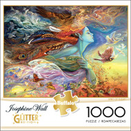 Josephine Wall Spirit Of Flight GLITTER EDITION 1000 Piece Jigsaw Puzzle Box