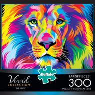 Vivid The King 300 Large Piece Jigsaw Puzzle Box