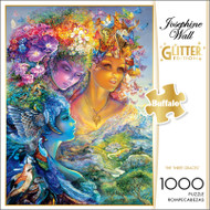Josephine Wall The Three Graces Glitter 1000 Piece Jigsaw Puzzle Box