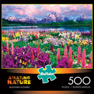 Amazing Nature Mountain Flowers 500 Piece Jigsaw Puzzle