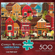 Charles Wysocki Lilac Point Glen 500 Piece Jigsaw Puzzle Box