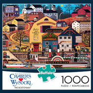 Charles Wysocki The Bostonian 1000 Piece Jigsaw Puzzle Box