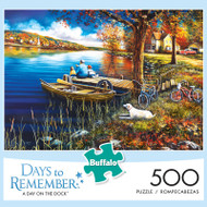 Days to Remember A Day on the Dock 500 Piece Jigsaw Puzzle Box