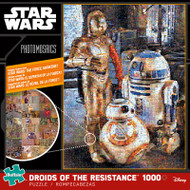 Star Wars™: Droids of the Resistance 1000 Piece Photomosaic Jigsaw Puzzle Box