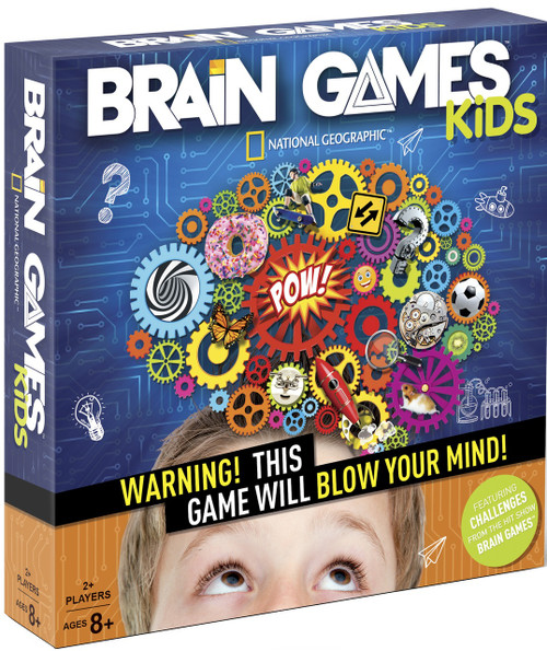National Geographic Brain Games Kids Box