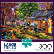 Geno Peoples The General Store 300 Large Piece Jigsaw Puzzle Box