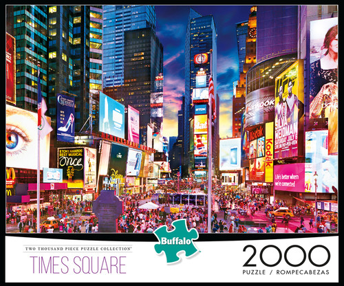 Times Square 2000 Piece Jigsaw Puzzle Box